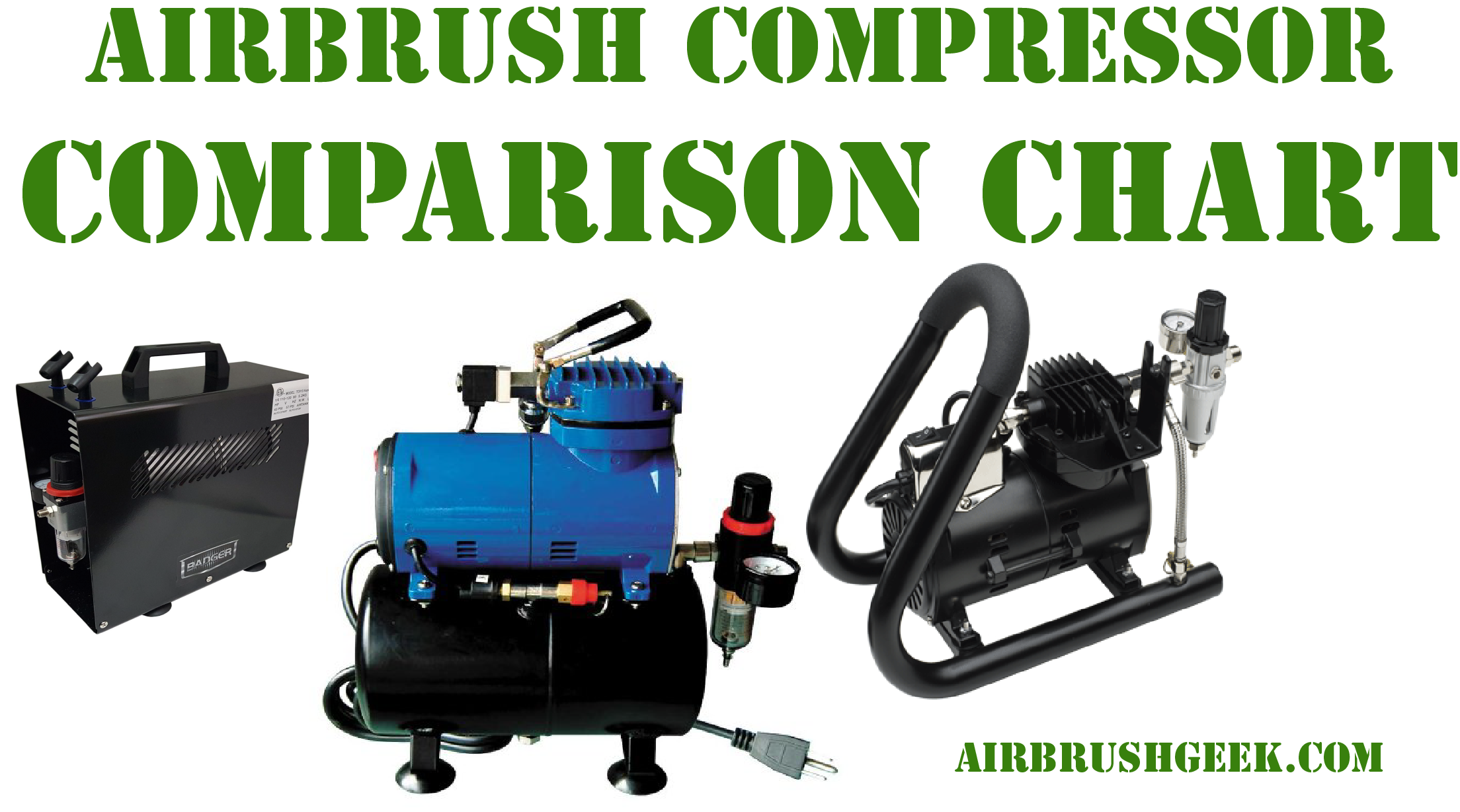 Airbrush Compressors Comparison Chart Airbrushgeek Ac Compressor Diagram Pro